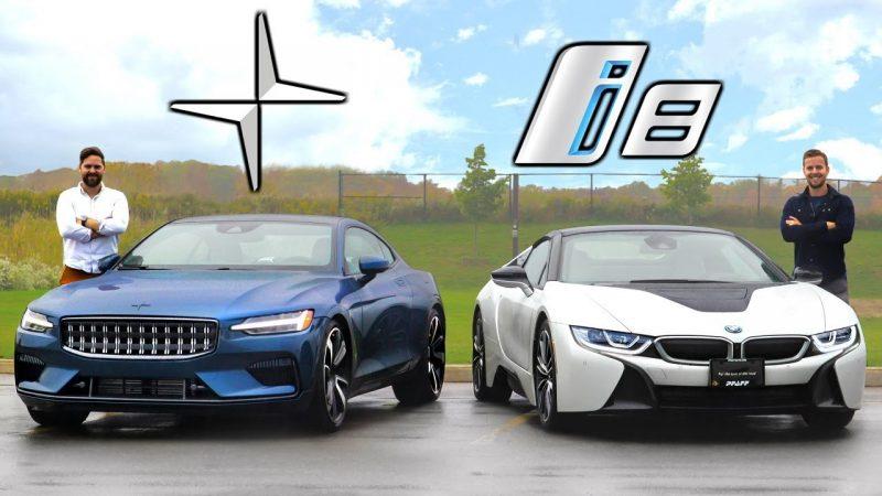 BMW i8 vs Polestar 1