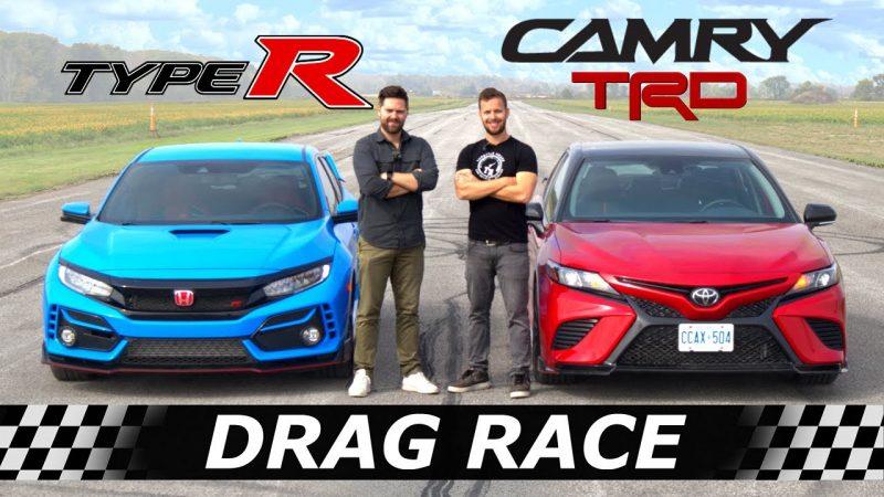 Camry TRD vs Civic Type R