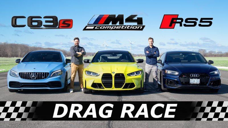 bmw m4 drag race