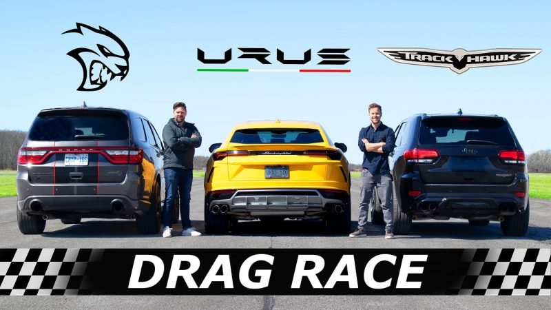 durango hellcat drag race