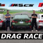 m5 cs drag race